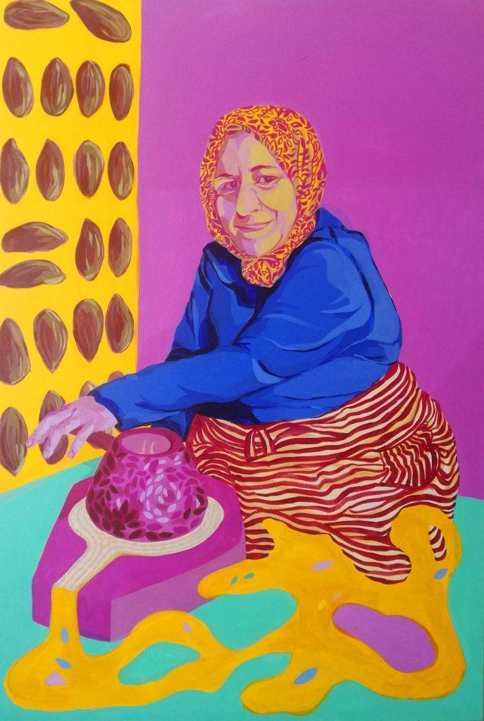 Femme Marocain III
